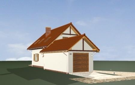 Animacja - projekt domu Puchatek