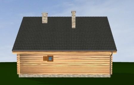 Animacja - Projekt domu Ranczo