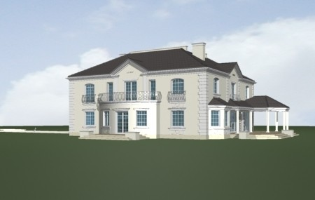 Animacja - projekt domu Regent