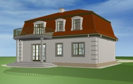 Animacja - Projekt domu Retro