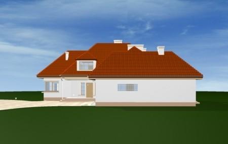 Animacja - Projekt domu Rezydencja