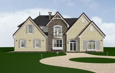 Animacja - Projekt domu Dallas