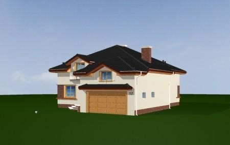 Animacja - Projekt domu Rodzinny