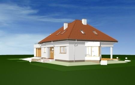 Animacja - projekt domu Eko