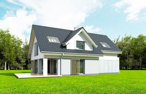Animacja - projekt domu Rozsądny