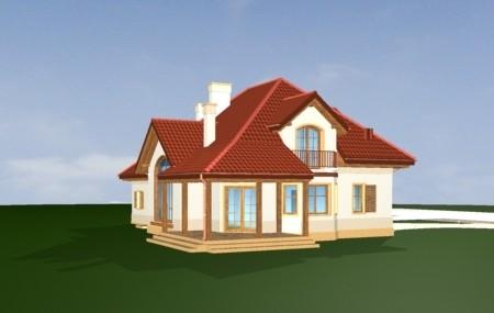Animacja - projekt domu Rubin