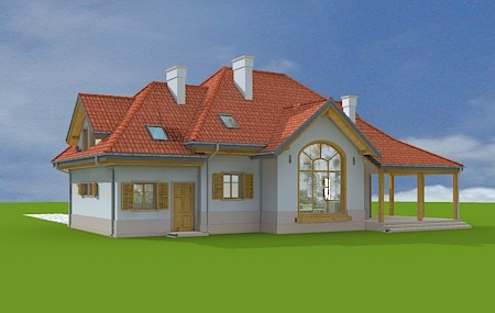 Animacja - projekt domu Rubin 2