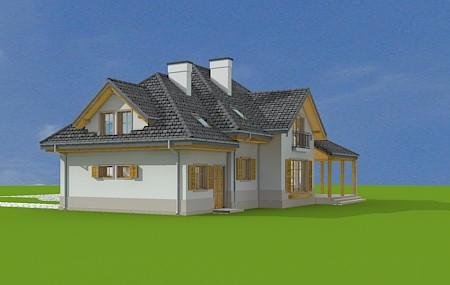Animacja - projekt domu Rubin 3