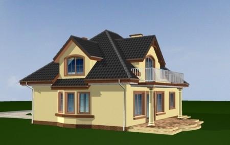 Animacja - projekt domu Saga 2