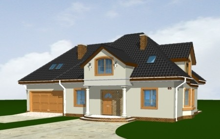 Animacja - projekt domu Saga 3
