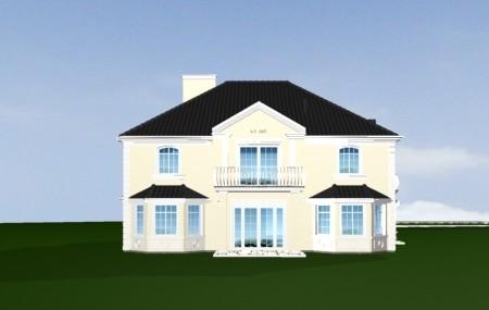 Animacja - projekt domu Sokół