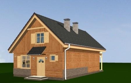 Animacja - projekt domu Słowik