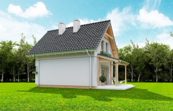 Animacja - projekt domu Smyk 2