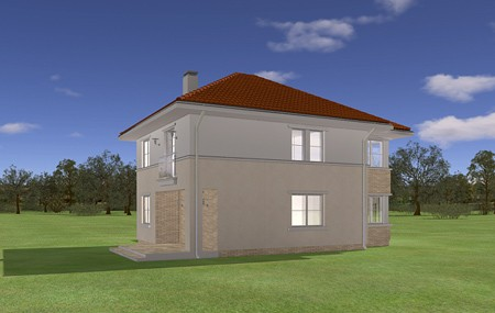 Animacja - projekt domu Ametyst
