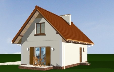 Animacja - projekt domu Sosenka 3