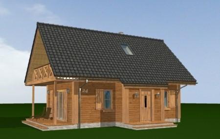 Animacja - projekt domu Sosenka 4
