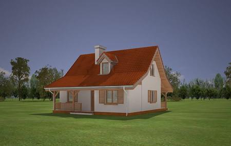 Animacja - projekt domu Sosenka 5