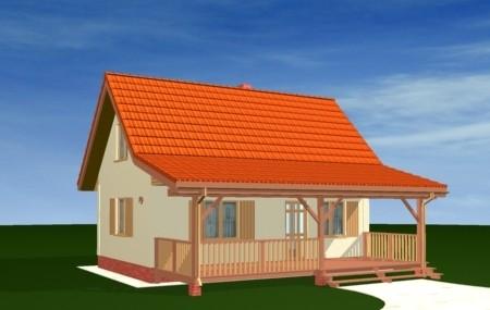 Animacja - projekt domu Sosenka 2