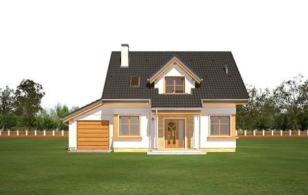 Animacja - projekt domu Spokojny