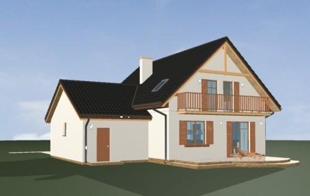 Animacja - projekt domu Sylwia
