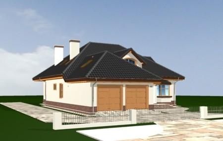 Animacja - projekt domu Sympatyczny
