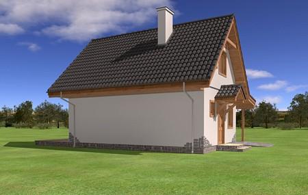 Animacja - projekt domu Szarejka