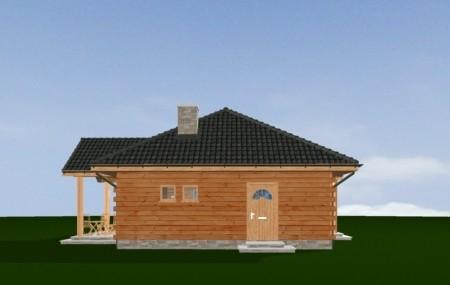 Animacja - projekt domu Jaskółka