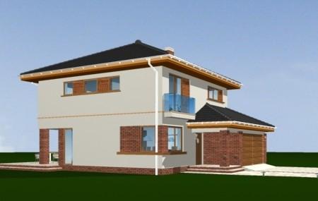 Animacja - projekt domu Szmaragd