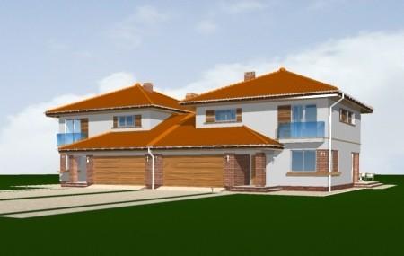 Animacja - projekt domu Szmaragd 2