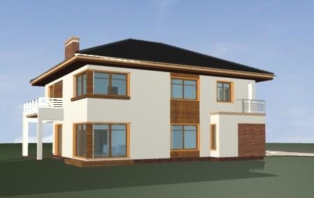 Animacja - projekt domu Topaz 2