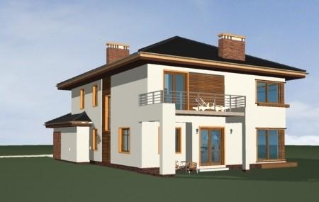 Animacja - projekt domu Topaz