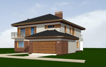 Animacja - projekt domu Topaz 3