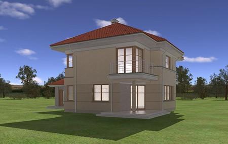 Animacja - projekt domu Turkus