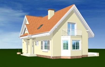 Animacja - projekt domu Wesoły