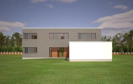 Animacja - projekt domu Villa Nova