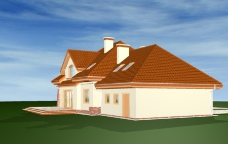Animacja - projekt domu Edyta
