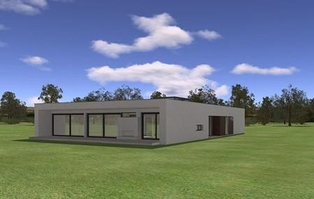 Animacja - projekt domu Willa Atrium