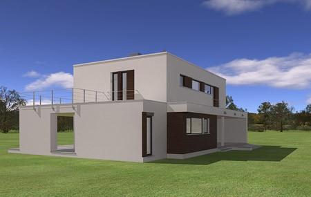 Animacja - Projekt domu Willa l' Azur
