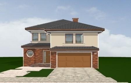 Animacja - projekt domu Wygodny 2