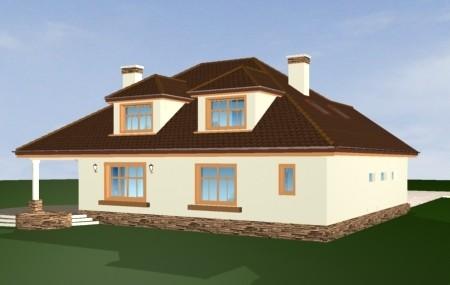 Animacja - projekt domu Zacisze