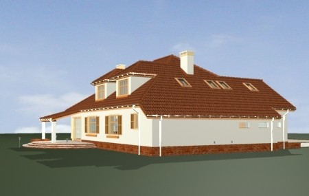 Animacja - projekt domu Zacisze 3