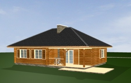 Animacja - projekt domu Zagajnik