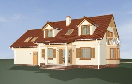 Animacja - projekt domu Zgrabny 5