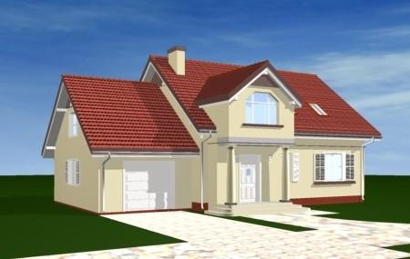 Animacja - projekt domu Zgrabny 4