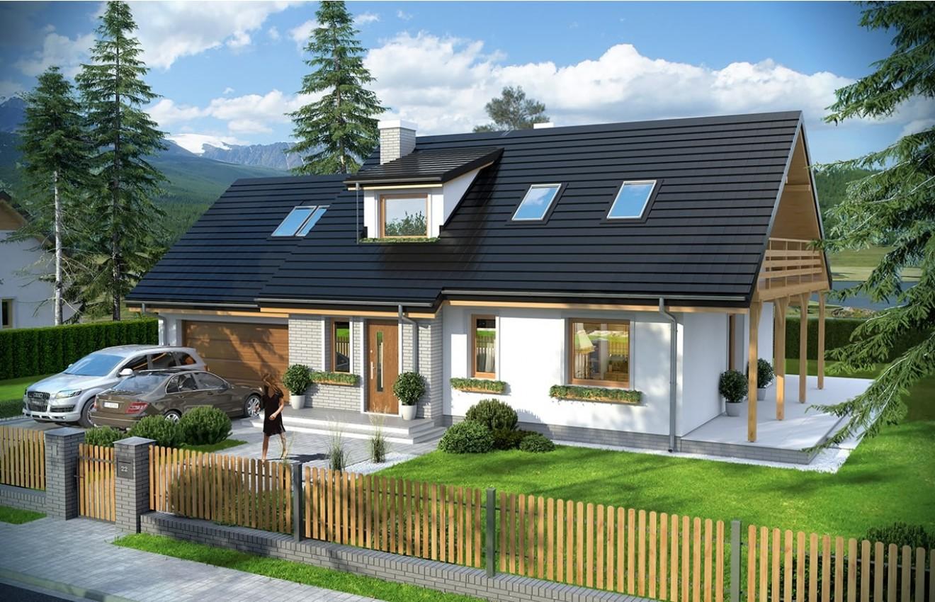 Projekt domu Bryza 4