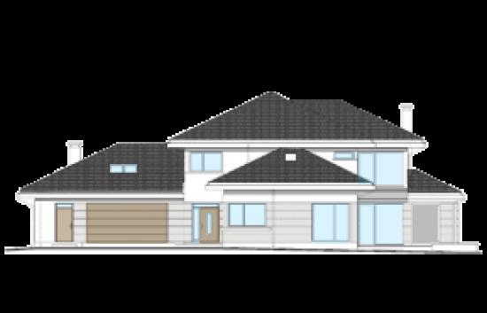 Dom z widokiem 4 wariant B