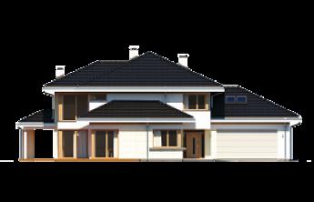 Dom z widokiem 3 wariant C