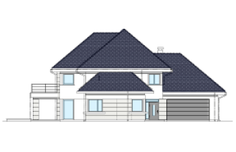 Dom z widokiem 6 wariant D