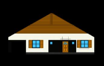 Słoneczny z garażem - wariant D