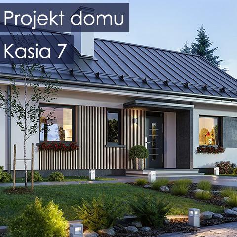 Projekt domu Parterowy Wąski